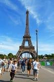 艾菲尔铁塔在巴黎 库存照片