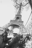 艾菲尔铁塔的照片 免版税库存照片