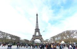 艾菲尔铁塔的照片 免版税库存图片