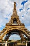 艾菲尔铁塔结构,巴黎 免版税库存图片