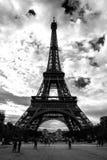 艾菲尔铁塔结构,巴黎 库存照片