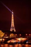 艾菲尔铁塔,巴黎,法国 库存照片