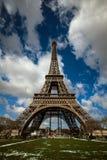 艾菲尔铁塔,巴黎,法国 免版税图库摄影