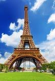 艾菲尔铁塔-从冠军de Mars.Paris,法国观看 库存照片
