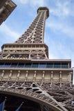 艾菲尔铁塔-巴黎拉斯维加斯旅馆 免版税库存照片
