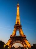 艾菲尔铁塔-巴黎 免版税库存图片
