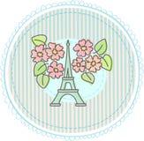 艾菲尔铁塔 免版税库存照片