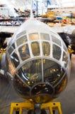 艾诺拉・盖号轰炸机驾驶舱  免版税库存图片