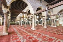 艾资哈尔清真寺,开罗,埃及 库存照片
