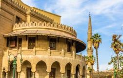 艾资哈尔-开罗老行政大厦  库存图片
