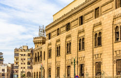 艾资哈尔-开罗老行政大厦  免版税库存照片
