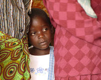 艾滋病孤儿 图库摄影