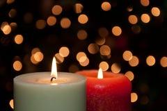 节假日蜡烛 免版税库存图片