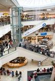 节假日购物中心购物 免版税库存图片