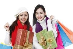 节假日购物 免版税图库摄影