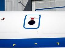 细节和航空器零件 免版税库存照片