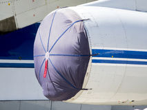 细节和航空器零件 免版税图库摄影