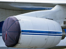 细节和航空器零件 图库摄影