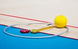 节奏体操世界冠军 库存图片