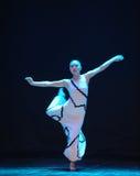 节奏差事到迷宫现代舞蹈舞蹈动作设计者玛莎・葛兰姆里 图库摄影