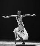 节奏差事到迷宫现代舞蹈舞蹈动作设计者玛莎・葛兰姆里 免版税图库摄影