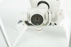 细节寄生虫quadrocopter Dji幽灵4 库存图片