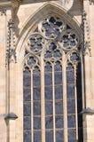 细节布拉格St. Vitus大教堂 库存照片