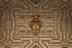 细节彼得斯圆顶罗马 库存图片