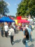 节日在俄斯拉发 免版税图库摄影