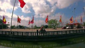 节日寺庙是神圣的地方 影视素材