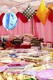 节日手摇纺织机季节界面 免版税库存图片