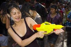 节日新的泰国水年 库存照片