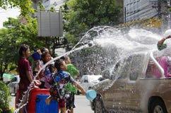 节日新的songkarn泰国水年 免版税库存图片