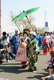 节日日语 库存照片