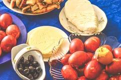 节日晚会宴餐肉饥饿美味 免版税库存照片