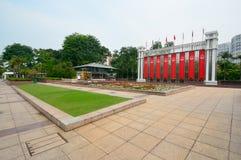 节日曲拱, Singaapore 免版税库存照片