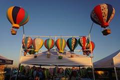 节日气球在亚利桑那 免版税图库摄影