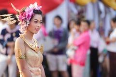 节日泰国传统 库存照片