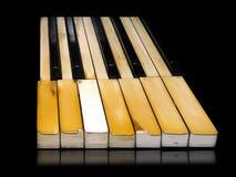 节日爵士乐钢琴 免版税库存图片