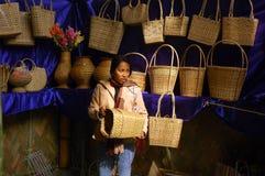 节日犀鸟印度nagaland 免版税图库摄影