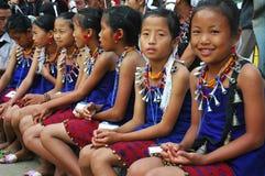 节日犀鸟印度nagaland 免版税库存照片