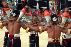 节日犀鸟印度nagaland 免版税库存图片