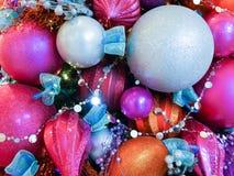 节日的圣诞节背景 免版税库存图片
