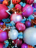 节日的圣诞节装饰 免版税图库摄影