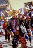 节日秘鲁人 免版税图库摄影