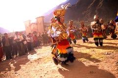 节日秘鲁人 免版税库存图片