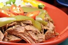 节日肉墨西哥牌照 库存图片