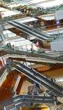 节日结构商城,香港 免版税库存照片