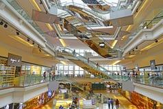节日结构商城,香港 免版税库存图片