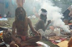 节日gangasagar印度 免版税图库摄影